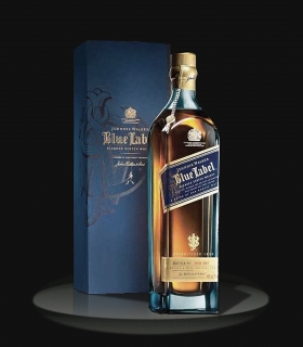 ЭЛИТНЫЙ ВИСКИ  BLUE LABEL JOHNNIE WALKER 700 ml. ШОТЛАНДИЯ